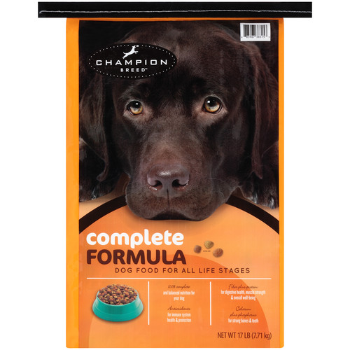 Champion Breed CHMP CB DRY DOG FOOD17LB COMPLETE