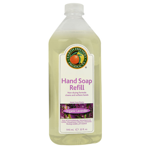 Earth Friendly Ecos Hand Soap Refill Lavender -- 32 fl oz