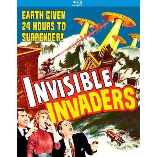 Invisible Invaders [Blu-ray] [1959]