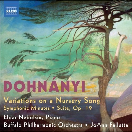 Dohnnyi: Variations on a Nursery Song; Symphonic Minutes; Suite, Op. 19 [CD]