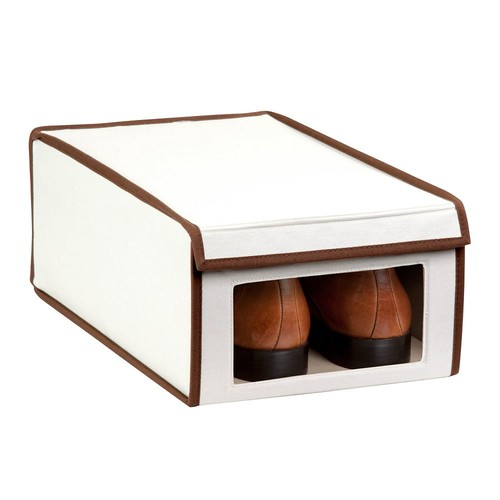 Honey-Can-Do Medium Window Shoe Box