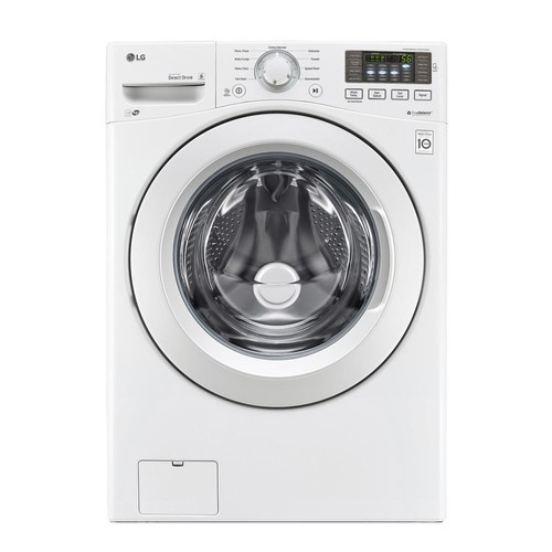 LG 4.5 cu. ft. Ultra Large Capacity Front Load Washer with ColdWash Technology - White