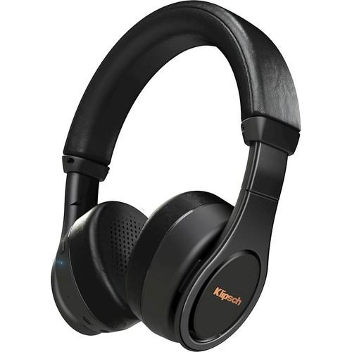 Klipsch - Wireless On-Ear Headphones - Black