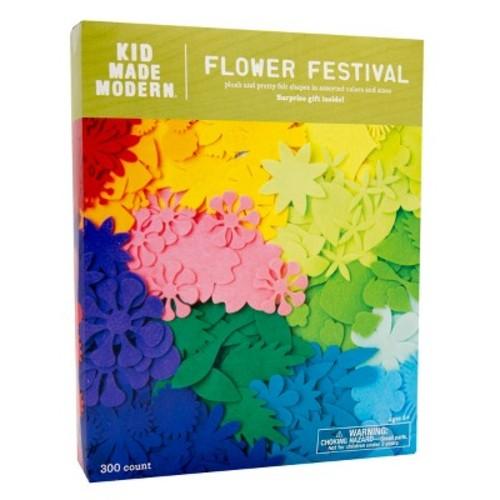 Kid Made Modern Felt Shapes - Flower Festival