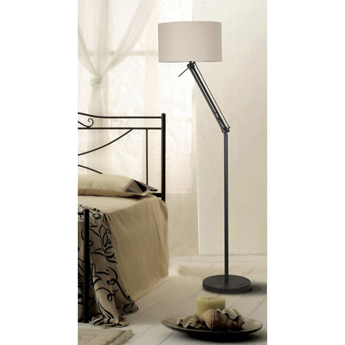Kenroy Home Hydra 51-63 in. Oil-Rubbed Bronze Adjustable Floor Lamp