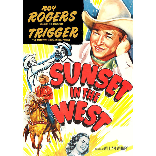 Sunset in the West [DVD] [1950]
