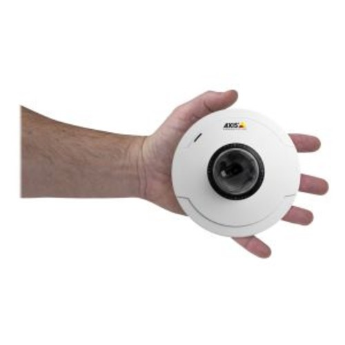 AXIS M5014 PTZ Dome Network Camera - Network camera - PTZ - dustproof / waterproof - color - fixed focal - audio - 10/100 (0399-001)