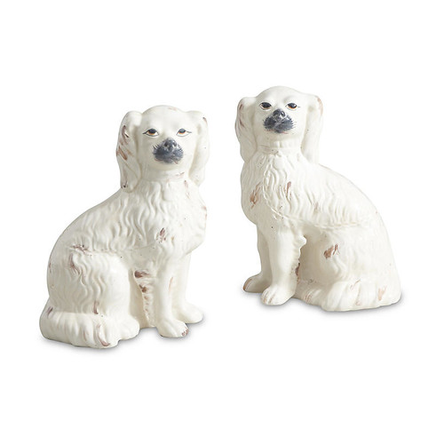 Comfort Dog Figures, Cream
