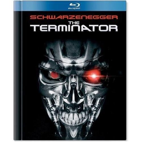 The Terminator [Blu-ray Book]: Arnold Schwarzenegger, Michael Biehn, Linda Hamilton, James Cameron: Movies & TV
