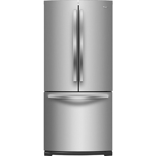 Whirlpool WRF560SMYM 19.6 Cu. Ft. Stainless Steel French Door Refrigerator - Energy Star