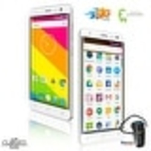 Indigi 4G LTE Unlocked Smartphone QuadCore 2SIM Android 6.0 w/ Bluetooth Headset - White