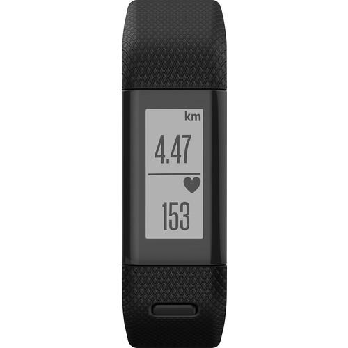 Garmin - vivosmart HR+ Activity Tracker + Heart Rate ( Regular ) - Black