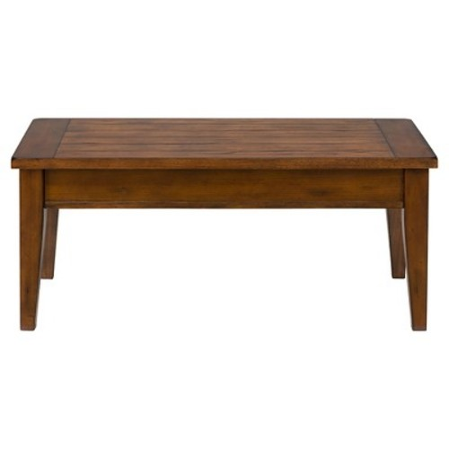 Dunbar Lift Top Cocktail Table Medium Brown - Jofran Inc.
