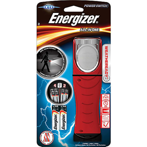 Energizer All-in-one Flashlight - Red