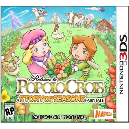 3DS Return to PopoloCroi Story/Seasons Fairytale