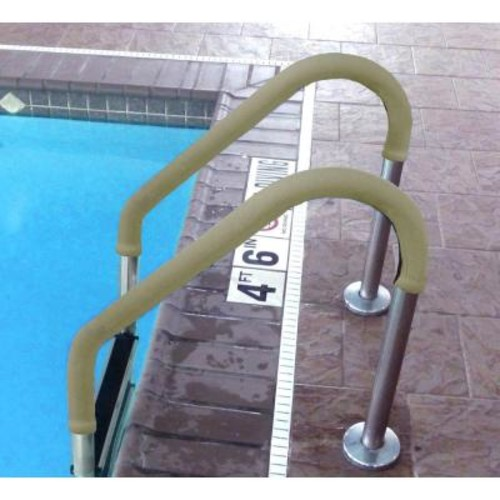 Blue Wave 10 ft. Tan Grip for Pool Handrails