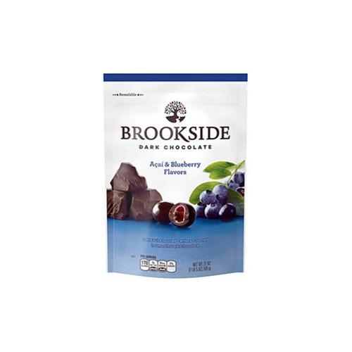 BROOKSIDE Dark Chocolate Acai and Blueberry Flavors 21oz