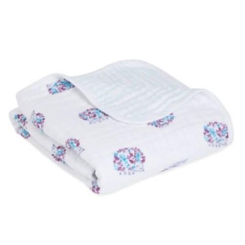aden + anais Thistle Classic Stroller Blanket