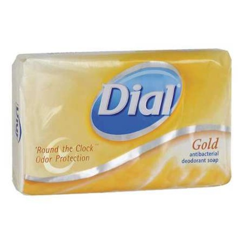 Dial Antibacterial Deodorant 3.5-oz Bar Soap (Pack of 72)