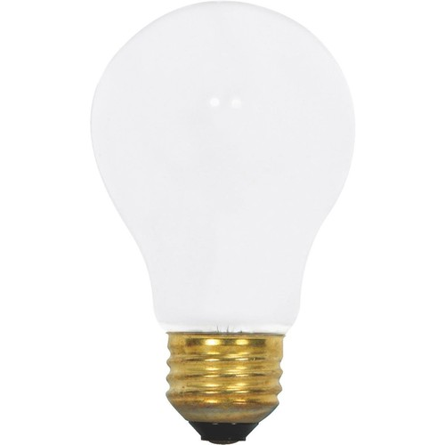 Satco A19 Incandescent Rough Service Light Bulb - S3882