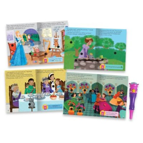 Educational Insights Hot Dots Jr. Princess Fairy Tales Interactive Storybooks (Set of 4)