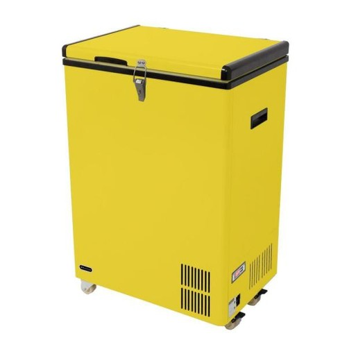Whynter 3.17 cu. ft. Portable Refrigerator/Freezer in Limited Edition Yellow