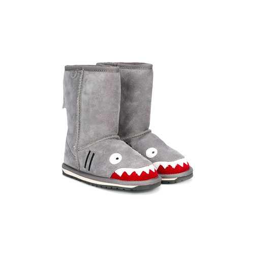shark shearling boots