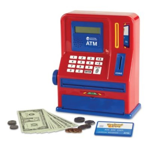 Learning Resources Pretend & Play Teaching ATM