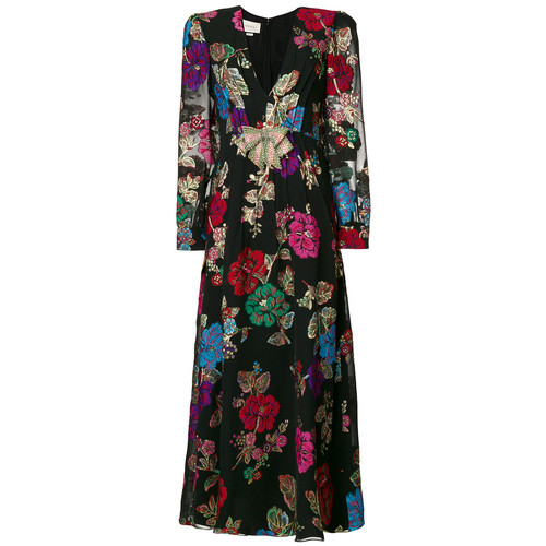 GUCCI Embroidered Floral Dress