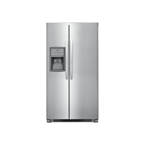 Frigidaire - 25.5 Cu. Ft. Refrigerator - Stainless steel