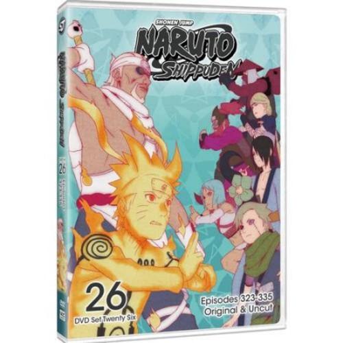 Naruto Shippuden Uncut Set 26 (DVD)