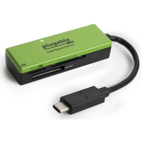 Plugable USB-C Flash Memory Card Reader