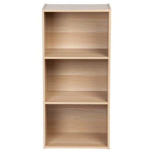 IRIS 3-Tier Storage Shelves - Light Brown