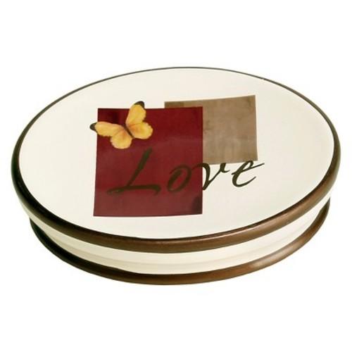 Grace Stoneware Soap Dish