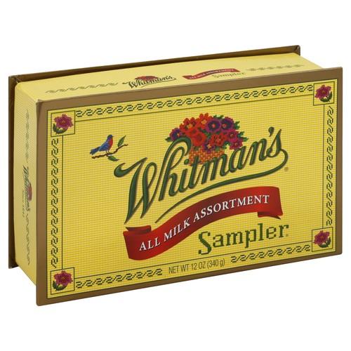 Whitmans Chocolates, All Milk Assortment 12 oz (340 g)
