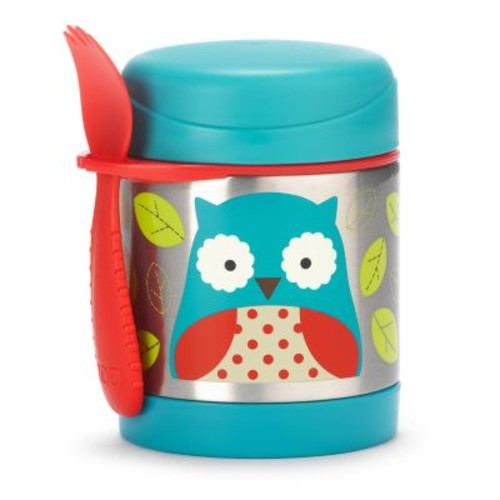 SKIP*HOP Zoo 11 oz. Insulated Food Jar in Owl