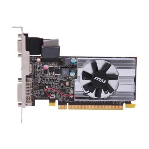 MSI R6450-MD1GD3/LP Radeon HD 64501 GB - 625 MHz Core - DDR3 SDRAM - PCI Express 2.1 x16 - Low-profile - 1333 MHz Memory Clock - 64 bit Bus Width - 2560 x 1600 - CrossFire - Video Graphics Card