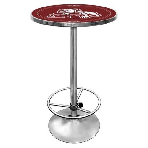 Trademark Mississippi State University Chrome Pub/Bar Table