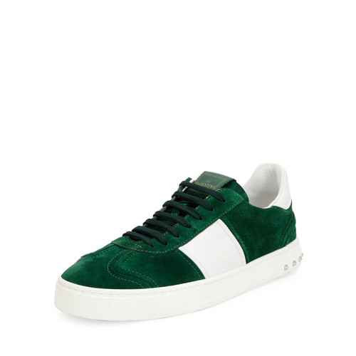 VALENTINO Fly Suede Low-Top Sneaker