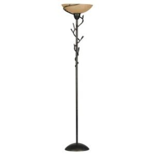Kenroy Home Twigs 72 in. Bronze Torchiere