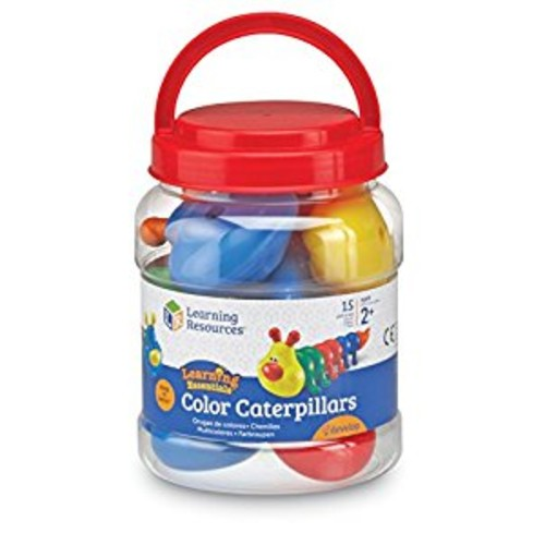 Learning Resources Snap 'N Learn Color Caterpillars