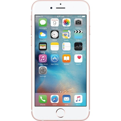 Apple - Pre-Owned (Excellent) iPhone 6s 4G LTE 64GB Cell Phone (Unlocked) - Rose G