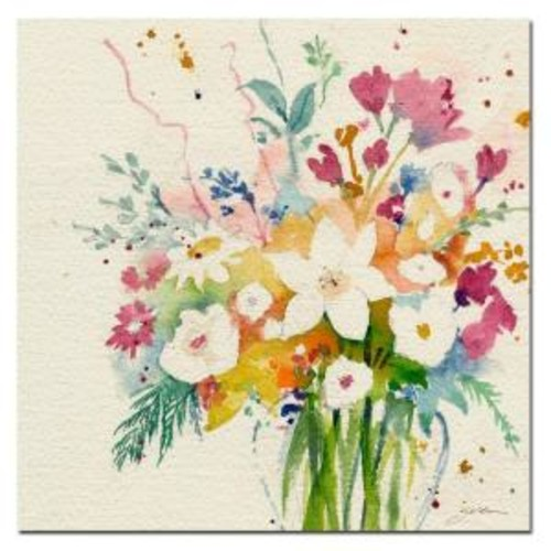 Trademark Fine Art 35 in. x 35 in. Dream Bouquet Canvas Art