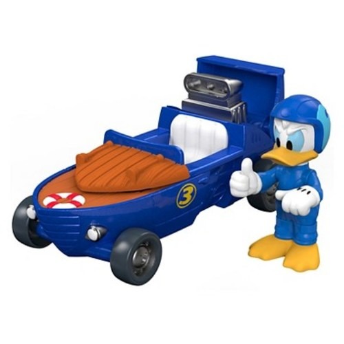 Fisher-Price Disney Mickey and the Roadster Racers 2-in-1 Cabin Cruiser Vehicle and Figure