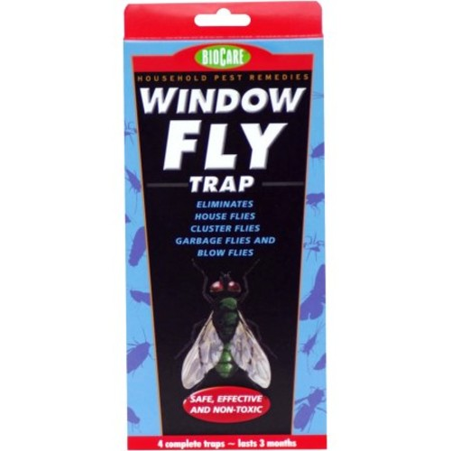 BioCare Window Fly Trap - 1 ea (box of 4)