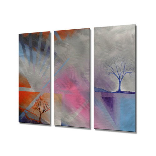 Skye Tayler 'New World in the Morning' Metal Wall Art