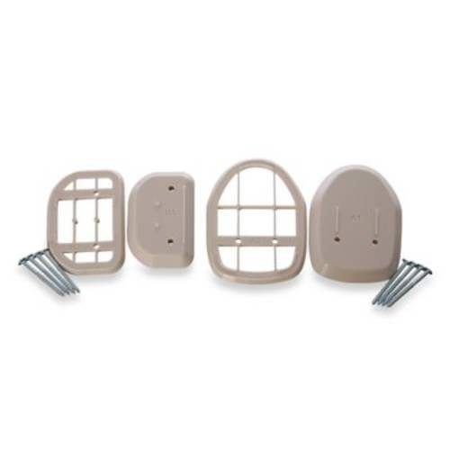 Bindaboo Retractable Gate Spacers in White