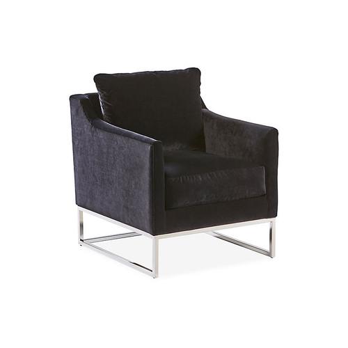 Skyler Accent Chair, Black