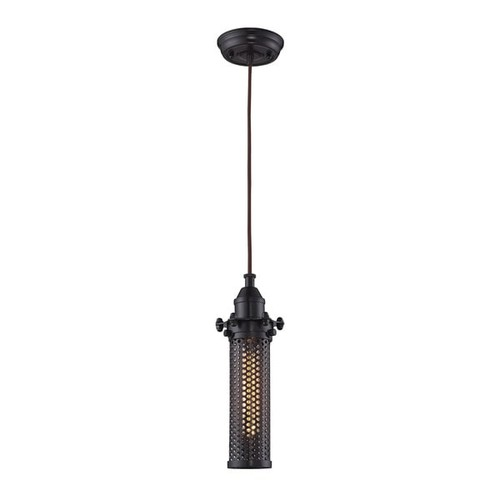 Elk Fulton Oil Rubbed Bronze 1-light Pendant