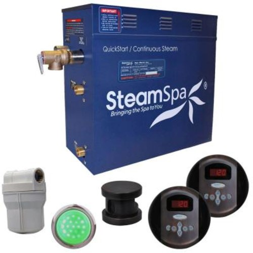 SteamSpa Royal 6kW Steam Bath Generator Package in Oil Rubbed Bronze